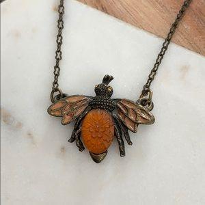 Vintage Bee Necklace